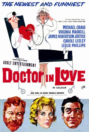 Doctor in Love - British Movie Poster (thumbnail)