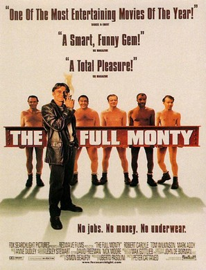 The Full Monty - Movie Poster (thumbnail)