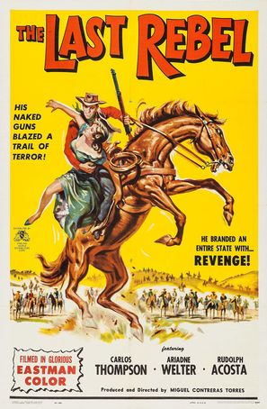 El último rebelde - Movie Poster (thumbnail)