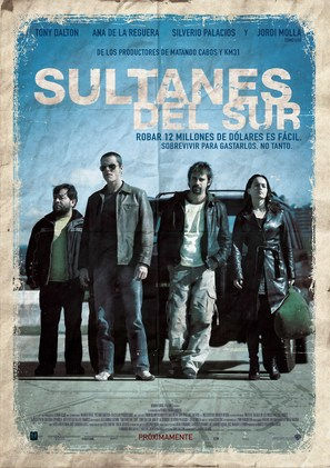 Sultanes del Sur - Mexican Movie Poster (thumbnail)