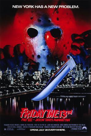Friday the 13th Part VIII: Jason Takes Manhattan - Movie Poster (thumbnail)