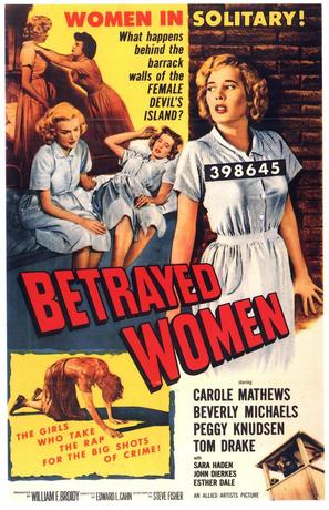 Betrayed Women - Theatrical poster (thumbnail)
