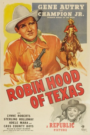 Robin Hood of Texas - Movie Poster (thumbnail)