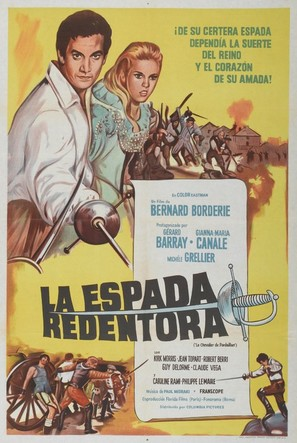 Le chevalier de Pardaillan - Argentinian Movie Poster (thumbnail)