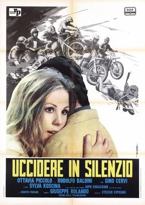 Uccidere in silenzio - Italian Movie Poster (thumbnail)