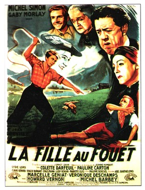 La fille au fouet - French Movie Poster (thumbnail)