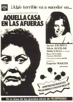 Aquella casa en las afueras - Spanish Movie Poster (thumbnail)