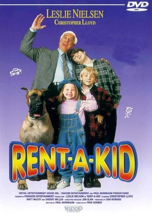 Rent-a-Kid - Danish Movie Cover (thumbnail)