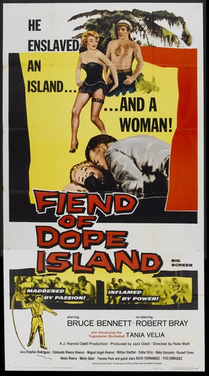 Fiend of Dope Island - Movie Poster (thumbnail)