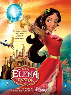 """Elena of Avalor"" - Movie Poster (thumbnail)"