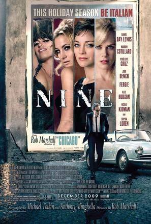 Nine - Movie Poster (thumbnail)