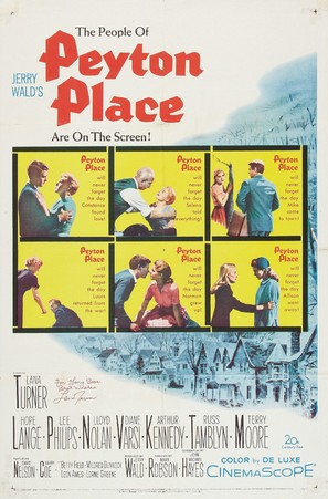 Peyton Place - Movie Poster (thumbnail)