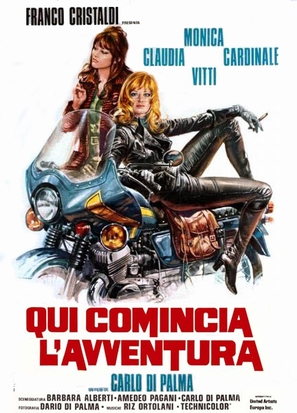 Qui comincia l'avventura - Italian Movie Poster (thumbnail)