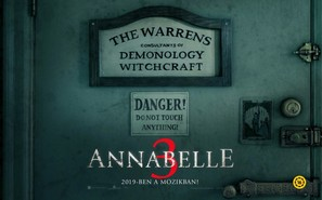Annabelle Comes Home - Hungarian Movie Poster (thumbnail)