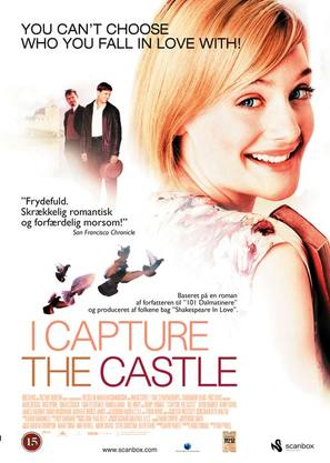 I Capture the Castle - Swedish Movie Poster (thumbnail)