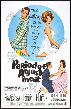 Period of Adjustment - Movie Poster (thumbnail)