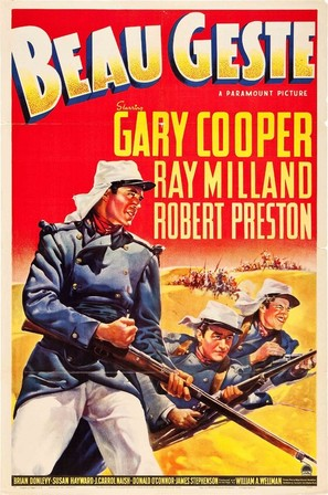 Beau Geste - Theatrical movie poster (thumbnail)