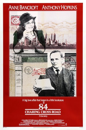84 Charing Cross Road - Movie Poster (thumbnail)