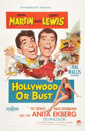 Hollywood or Bust - Theatrical movie poster (thumbnail)