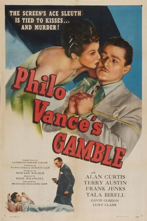 Philo Vance's Gamble - Movie Poster (thumbnail)