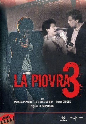 """La piovra 3"" - Italian Movie Cover (thumbnail)"