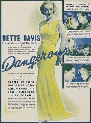 Dangerous - Movie Poster (thumbnail)