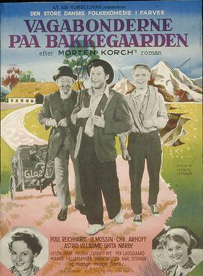 Vagabonderne på Bakkegården - Danish Movie Poster (thumbnail)