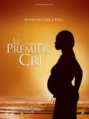 Le premier cri - French Movie Poster (thumbnail)