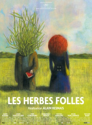 Les herbes folles - French Movie Poster (thumbnail)