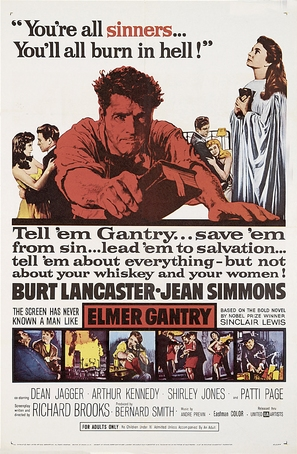 Elmer Gantry - Movie Poster (thumbnail)