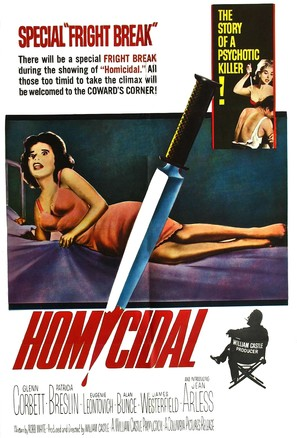 Homicidal - Movie Poster (thumbnail)