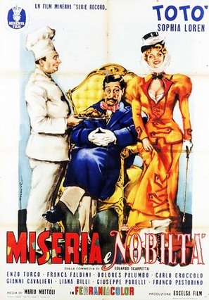 Miseria e nobiltà - Italian Movie Poster (thumbnail)