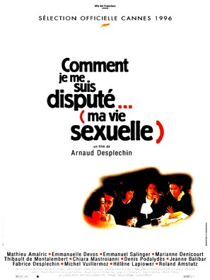 Comment je me suis disputé... (ma vie sexuelle) - French Movie Poster (thumbnail)