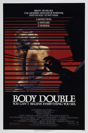 Body Double - Theatrical movie poster (thumbnail)