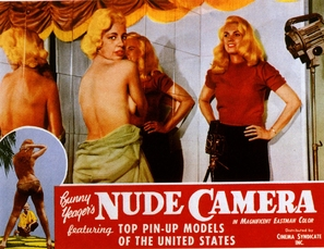 Bunny Yeager's Nude Camera - Movie Poster (thumbnail)