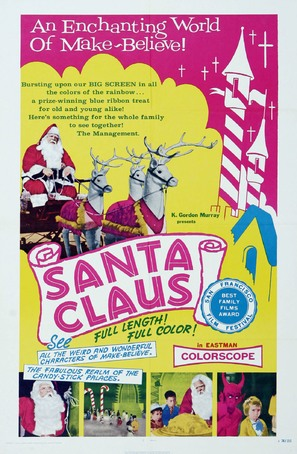 Santa's Enchanted Village - Movie Poster (thumbnail)