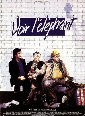 Voir l'éléphant - French Movie Poster (thumbnail)