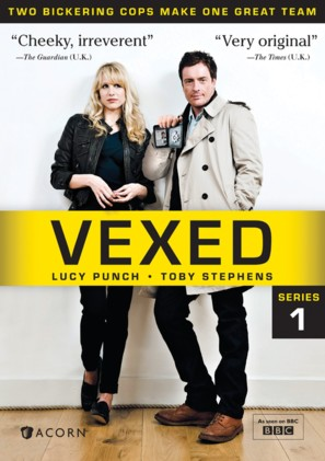 """""""Vexed"""" - DVD movie cover (thumbnail)"""