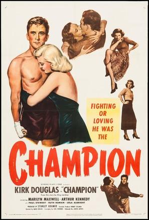 Champion - Movie Poster (thumbnail)