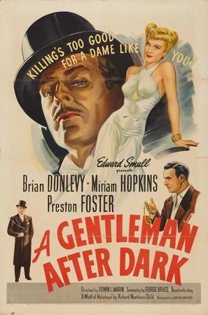 A Gentleman After Dark - Movie Poster (thumbnail)