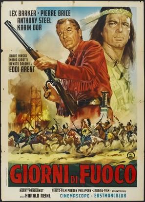 Winnetou - 2. Teil - Italian Movie Poster (thumbnail)