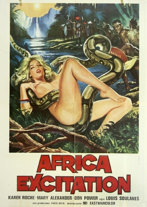 Jungle Erotic - Italian Movie Poster (thumbnail)