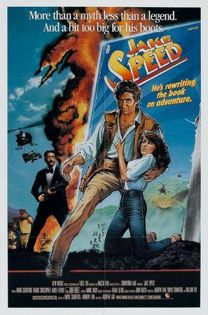 Jake Speed - Movie Poster (thumbnail)