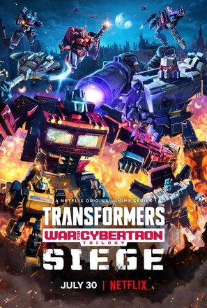 """""""Transformers: War for Cybertron"""" - Movie Poster (thumbnail)"""
