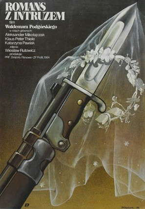 Romans z intruzem - Polish Movie Poster (thumbnail)