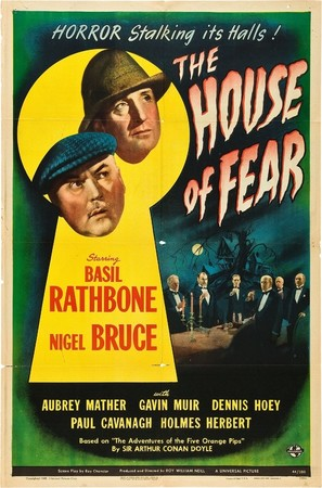 The House of Fear - Theatrical poster (thumbnail)