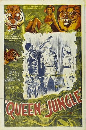 Queen of the Jungle - Movie Poster (thumbnail)