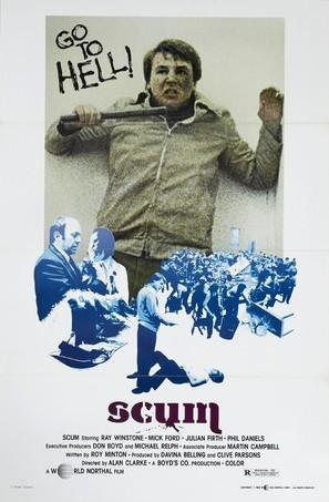Scum - British Movie Poster (thumbnail)