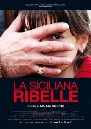 La siciliana ribelle - Italian Movie Poster (thumbnail)