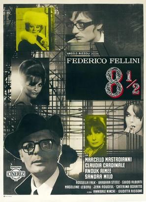 8½ - Italian Movie Poster (thumbnail)